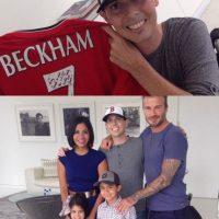 Aportó ayuda económica a una familia estadounidense de bajos recursos. Foto:Vía instagram.com/davidbeckham