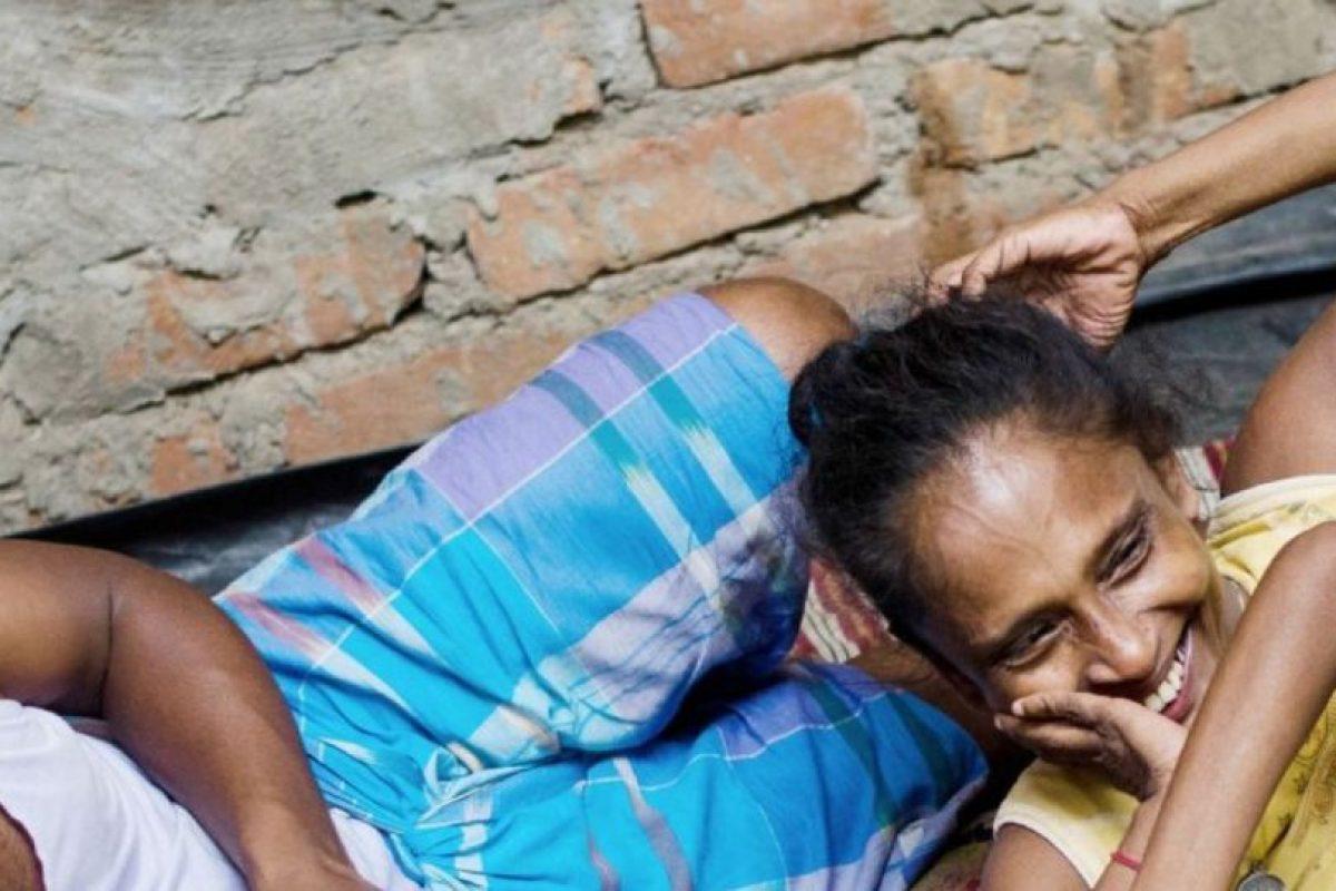 De hecho, esto es común en la India rural. Foto:vía Barcroft Media