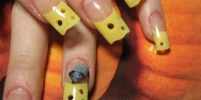 20. Uñas de queso roquefort Foto:Vía Instagram