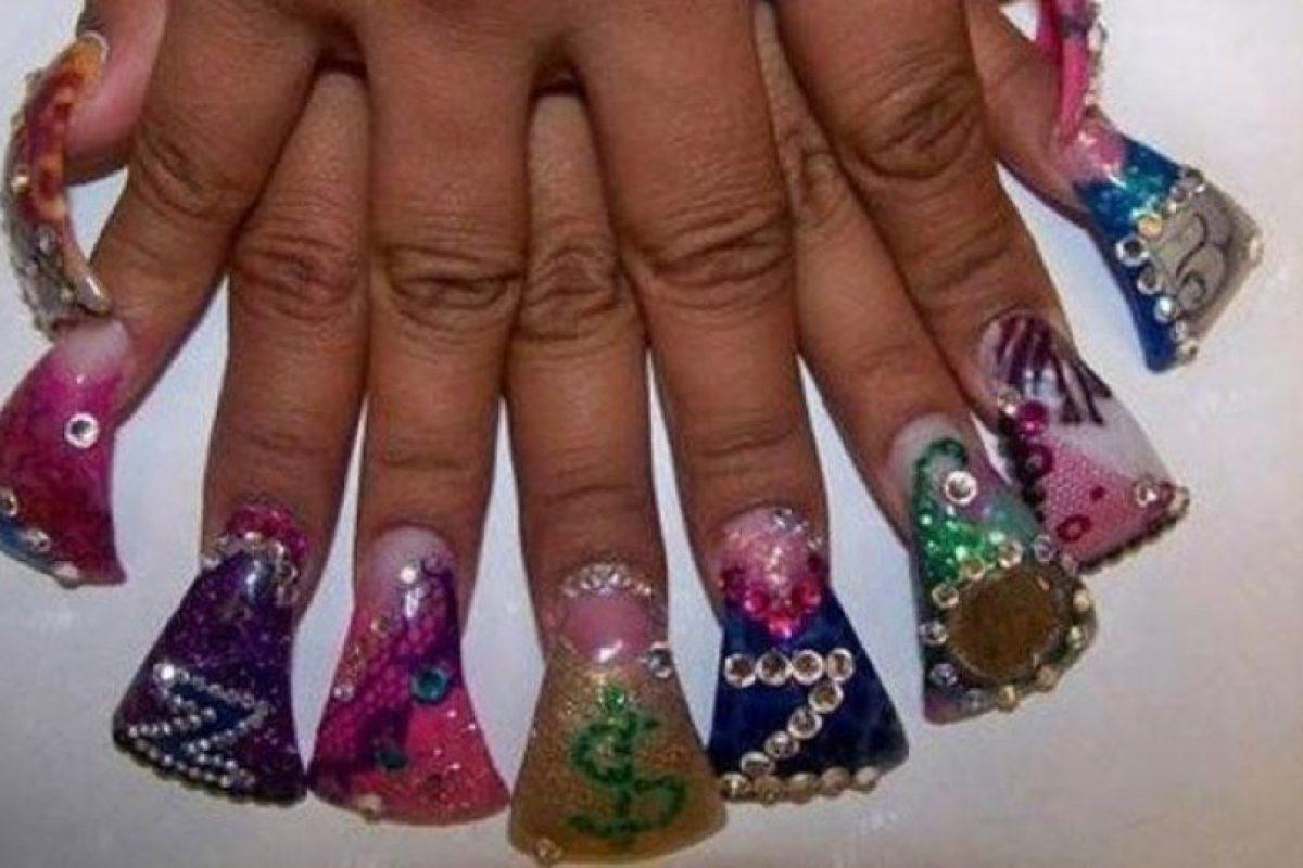 19. Abanicos en las uñas Foto:Vía Instagram