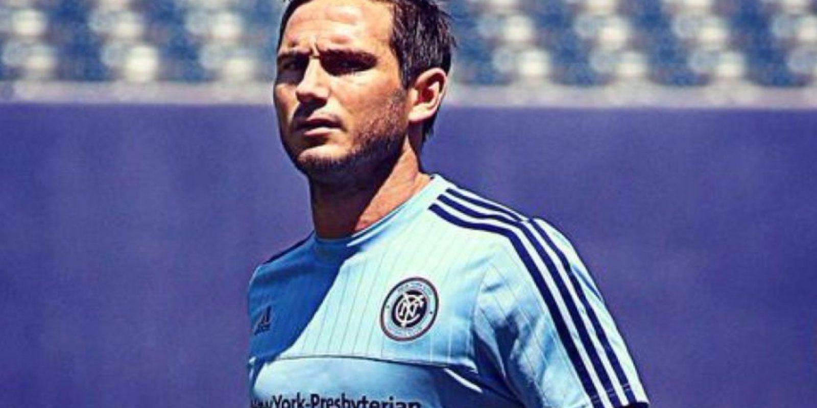 Mientras que Lampard tiene 37 años Foto:MLS