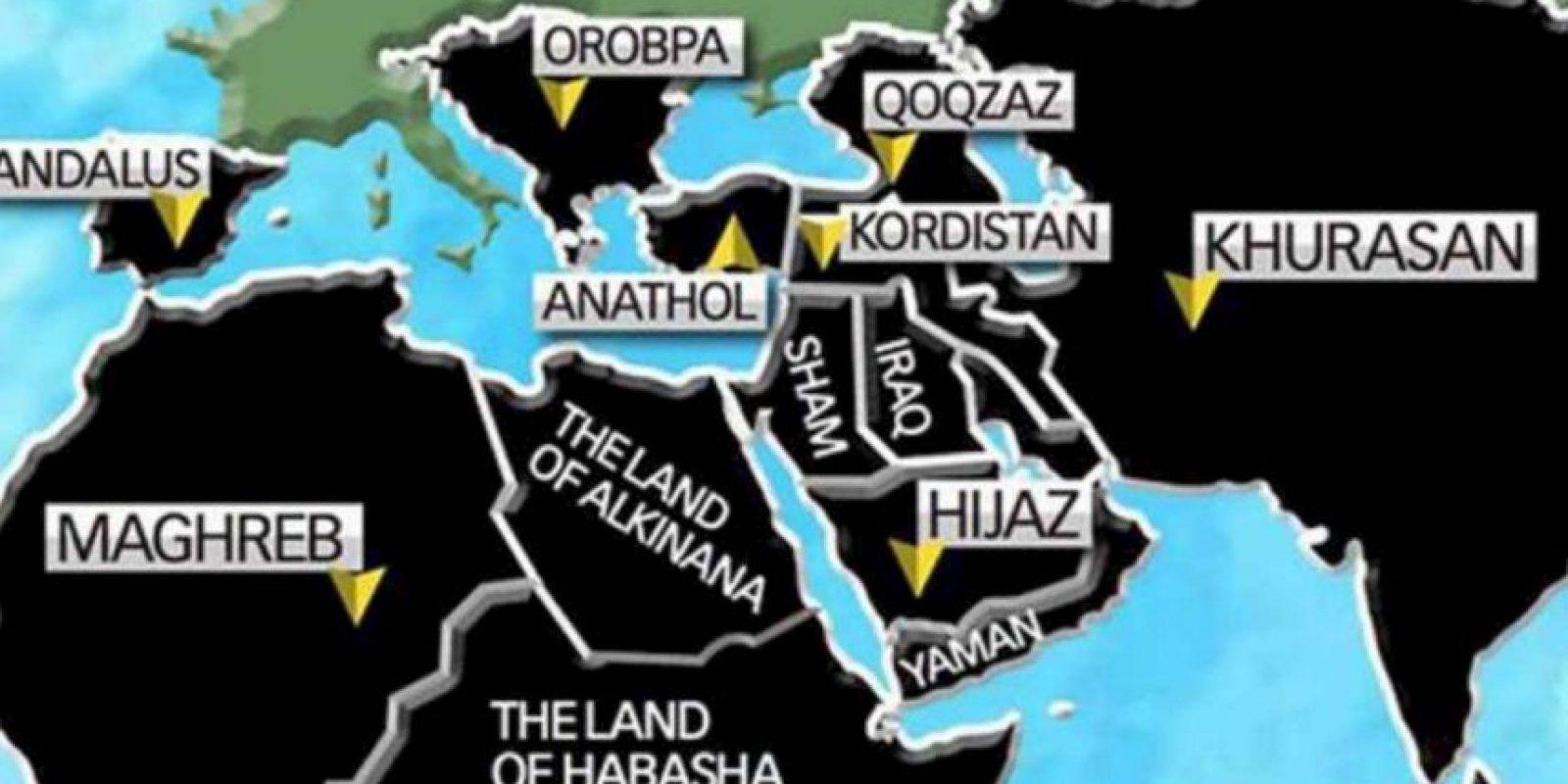 Medio Oriente, África del Norte y algunas partes de Europa son los puntos de interés. Foto:AP