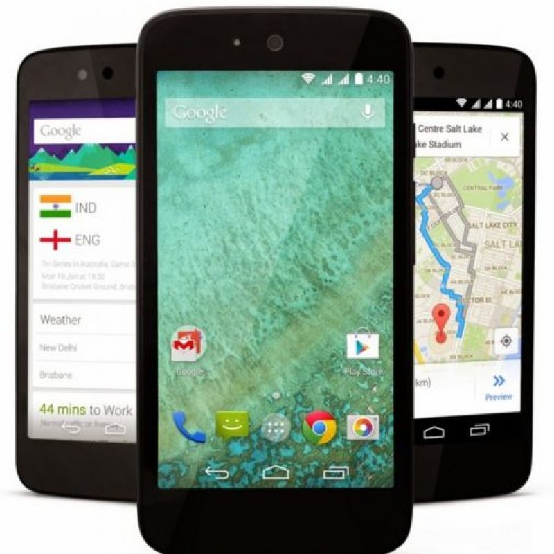 Y cuentan con todas las funciones de notificaciones, teclado, audio y video que tienen los otros celulares de marcas reconocidas Foto:Google