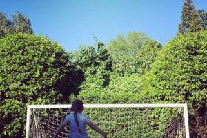 O sus comienzos en el fútbol. Foto:Vía instagram.com/davidbeckham