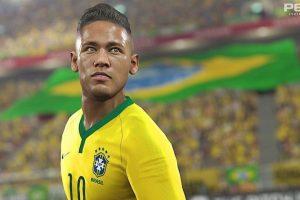 Neymar en el PES 2016 Foto:Konami
