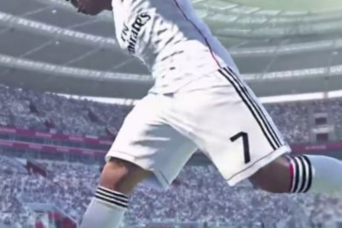Cristiano Ronaldo en el PES 2016 Foto:Konami