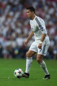 Cristiano Ronaldo (Portugal) en la vida real Foto:Getty Images