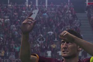 Francesco Totti en el PES 2016 Foto:Konami