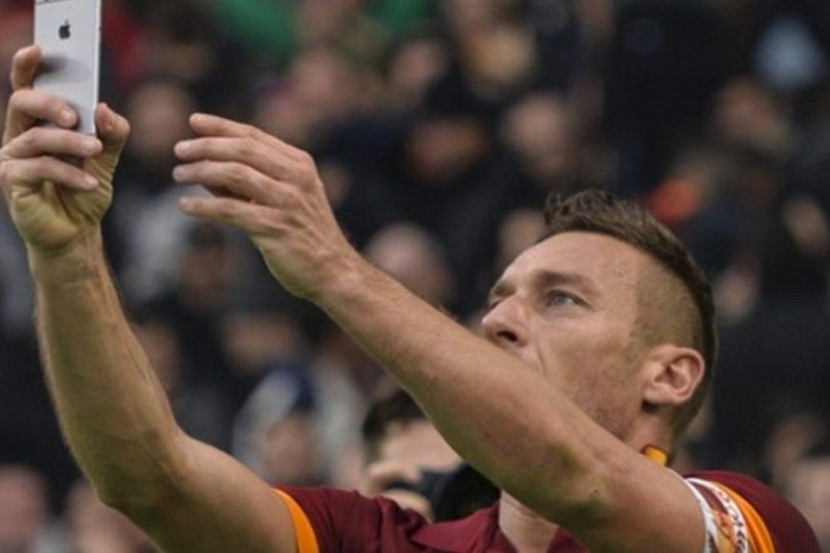 Francesco Totti (Italia) en la vida real Foto:Getty Images