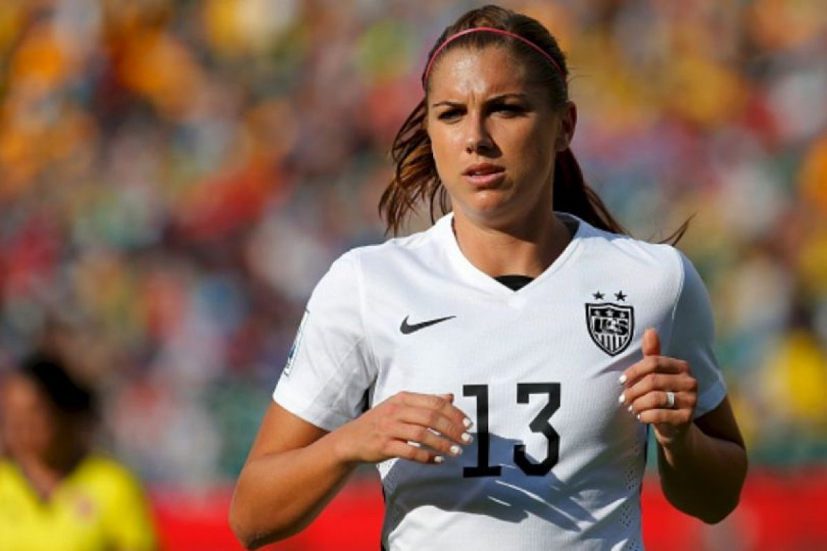 La estadounidense Alex Morgan juega en el Portland Thorns FC Foto:Getty Images
