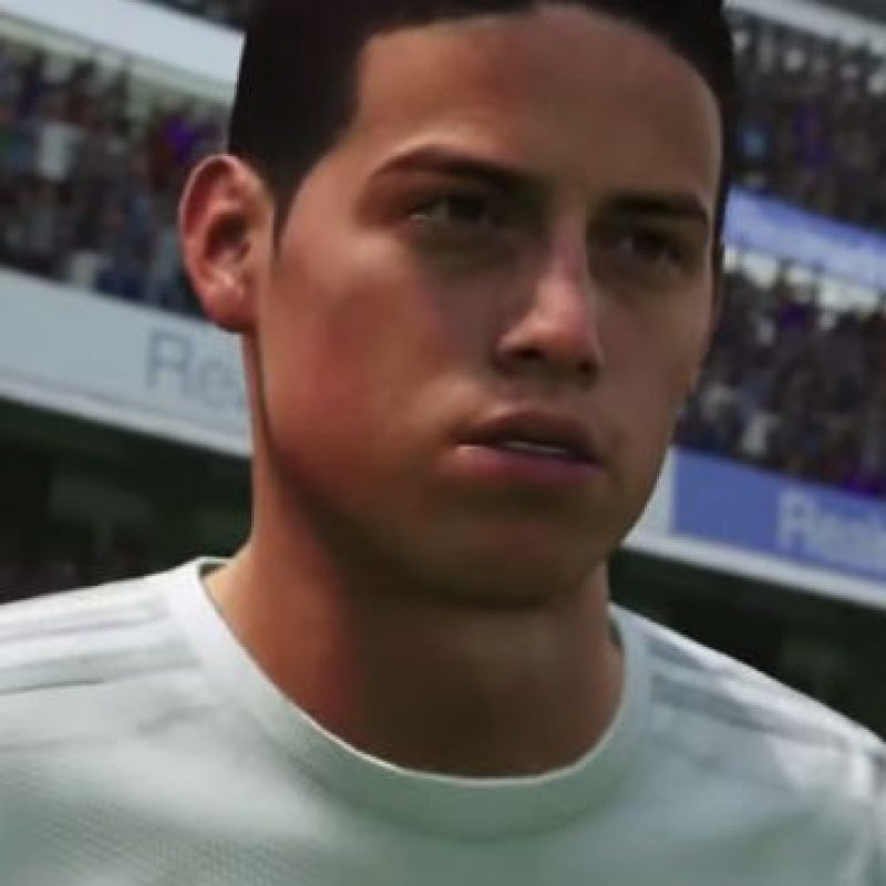 James Rodríguez Foto: EA Sports