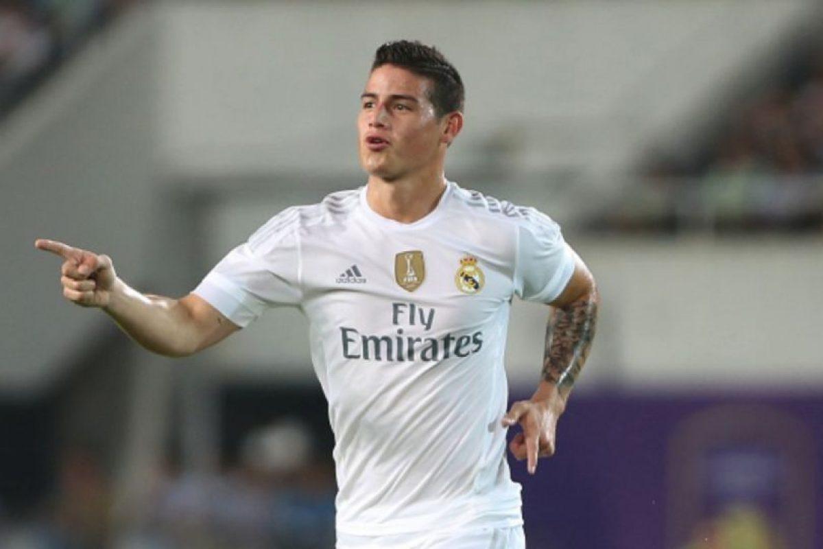 El colombiano juega en el Real Madrid Foto:Getty Images