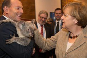 La canciller alemana Angela Merkel. Foto:Getty Images