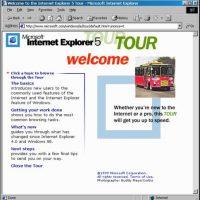 Internet Explorer 5.0 (1999) Foto:Microsoft