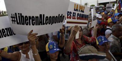 López fue encarcelado por incitar a las protestas. Foto:AP