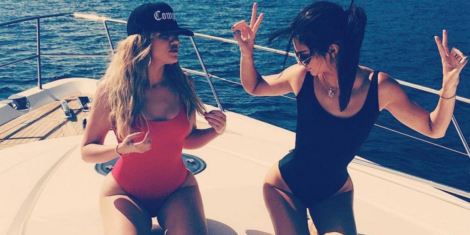 Khloé Kardashian y Kendall Jenner Foto:Vía /instagram.com/khloekardashian/