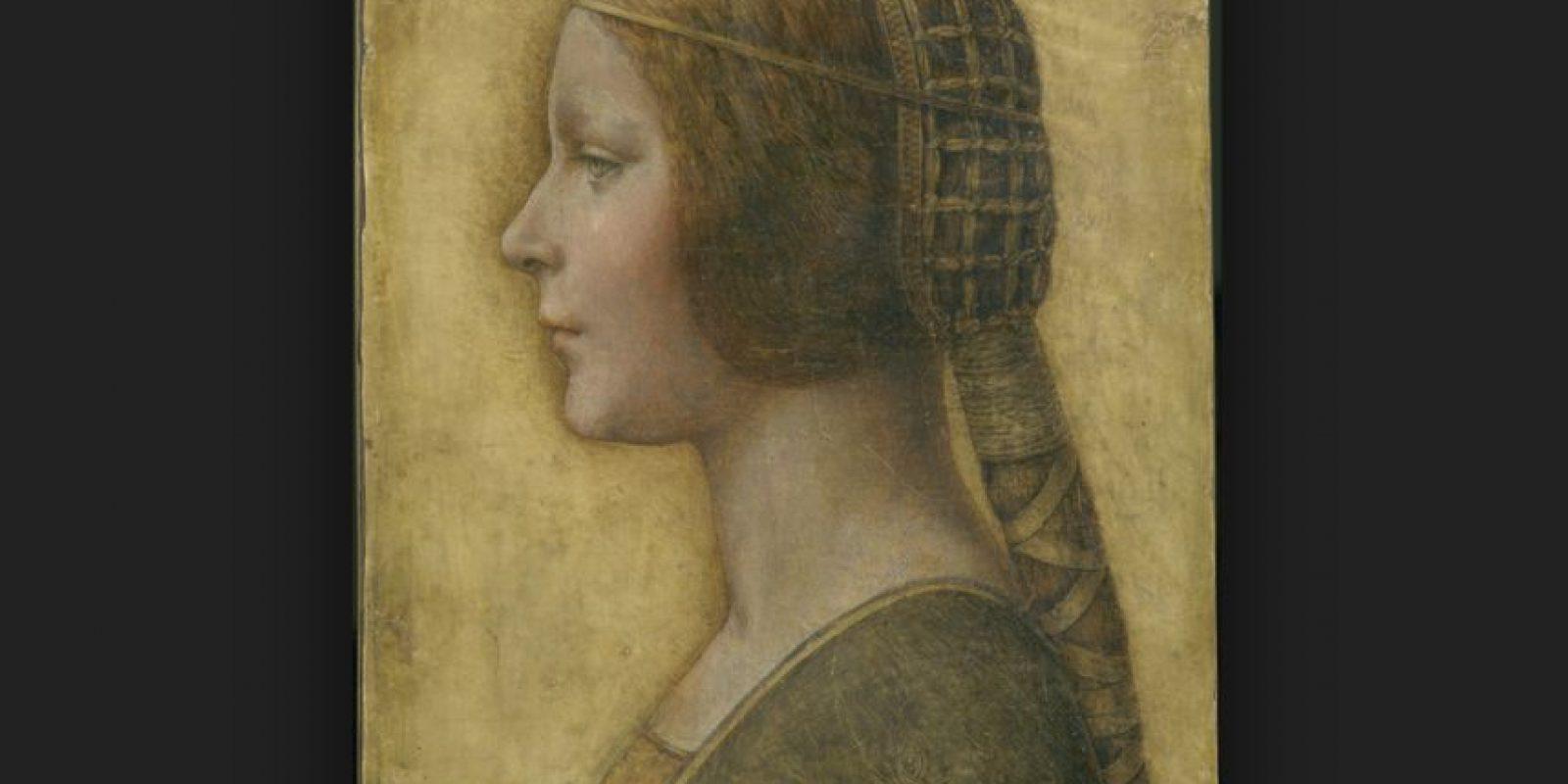 La bella principessa: en esta pintura Da Vinci retrató a Bianca, la hija ilegítima de Ludovico Sforza -Duque de Milán desde finales del siglo XV. Foto:Vía flickr.com