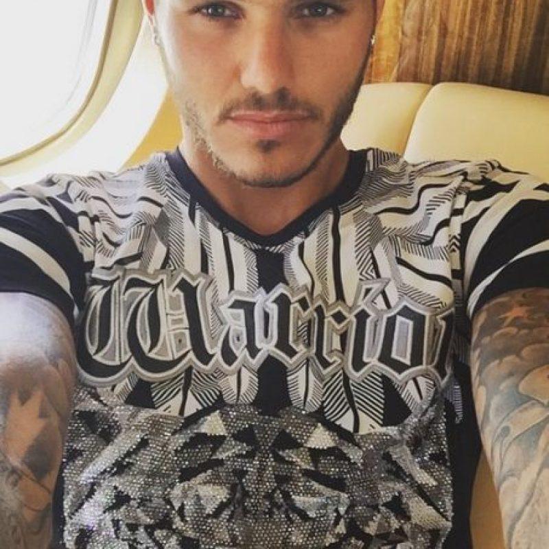 Tiene 22 años y juega como delantero. Foto:Vía instagram.com/mauroicardi