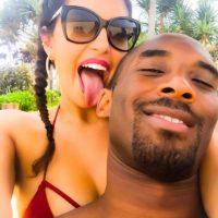"""Esta fue la foto con la que Vanessa felicitó a """"Mamba Negra"""" Foto:Vía instagram.com/vanessabryant"""