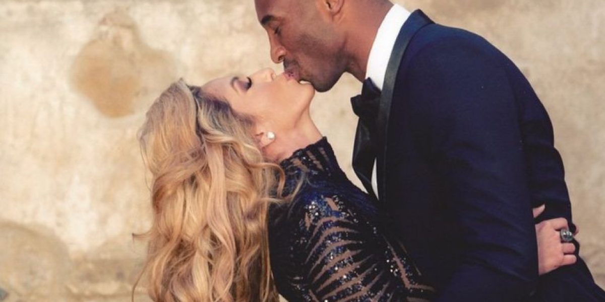 Kobe Bryant celebra su cumpleaños 37 con su guapa esposa