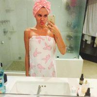 Miley se presume sola Foto:Vía instagram.com/mileycyrus/