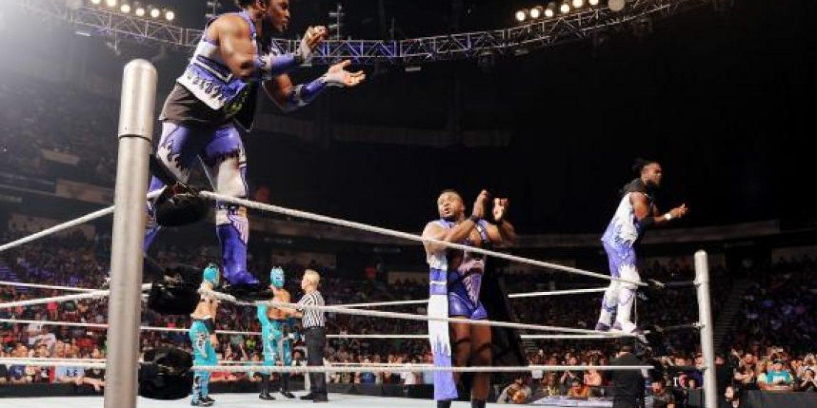 Una de las parejas a la que enfrentarán son The New Day, que estará representado por Big W y Kofi Kignston Foto:WWE