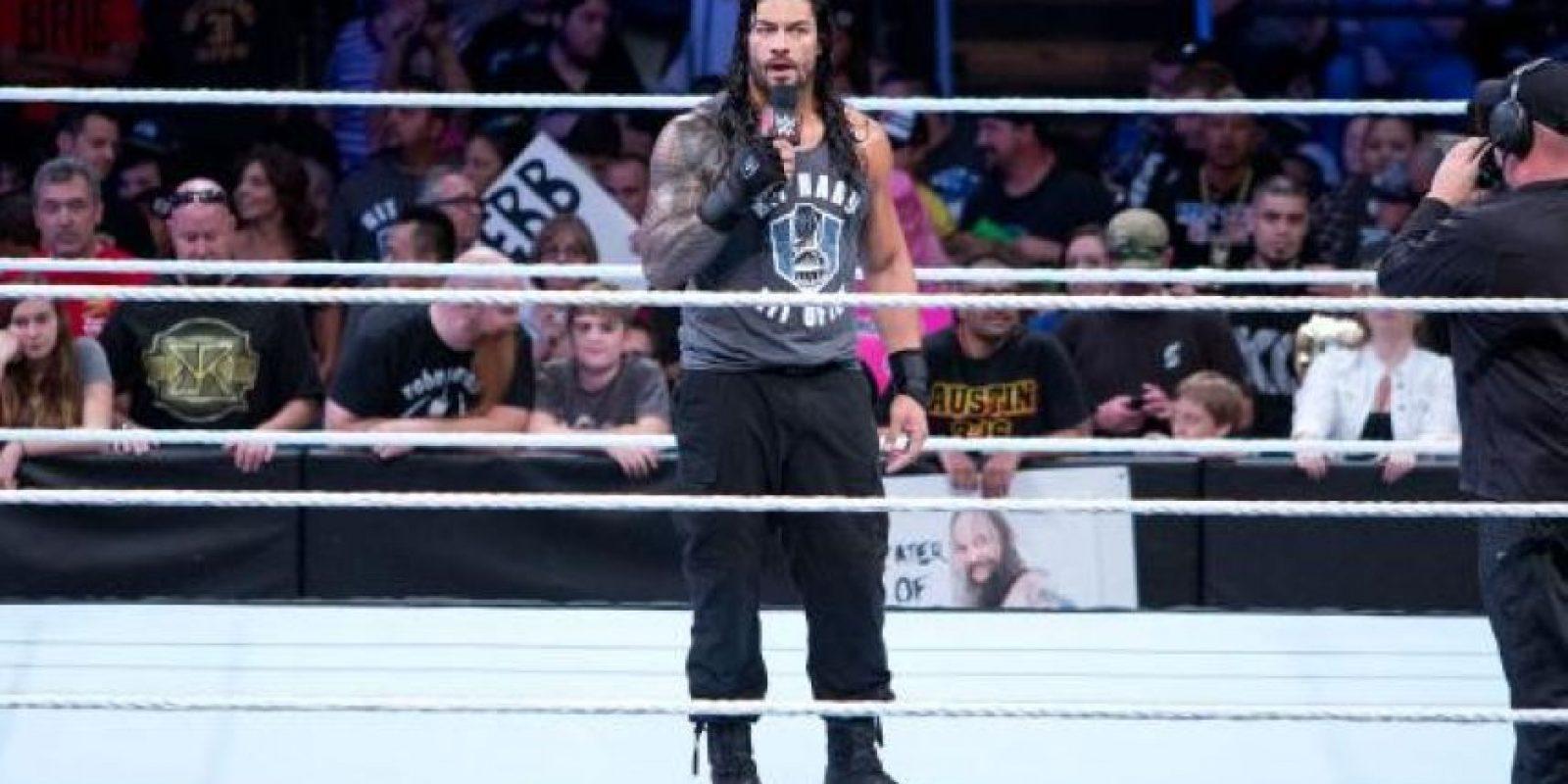 Y ahora es uno de los luchadores estelares de la WWE Foto:WWE