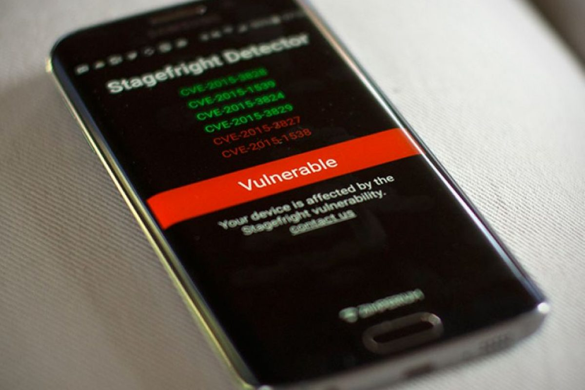 La empresa que descubrió el fallo, Zimperium, lanzó una app que determina que tan vulnerable de su equipo a esta amenaza Foto:Zimperium