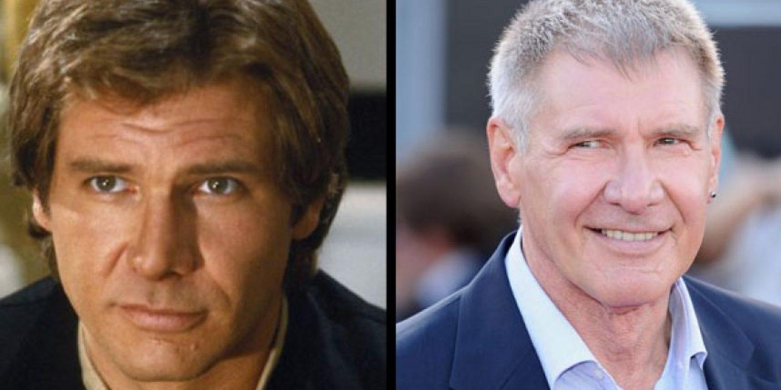 Harrison Ford interpretó a Han Solo, y sigue activo hasta el día de hoy. Foto: The Hollywood Reporter.