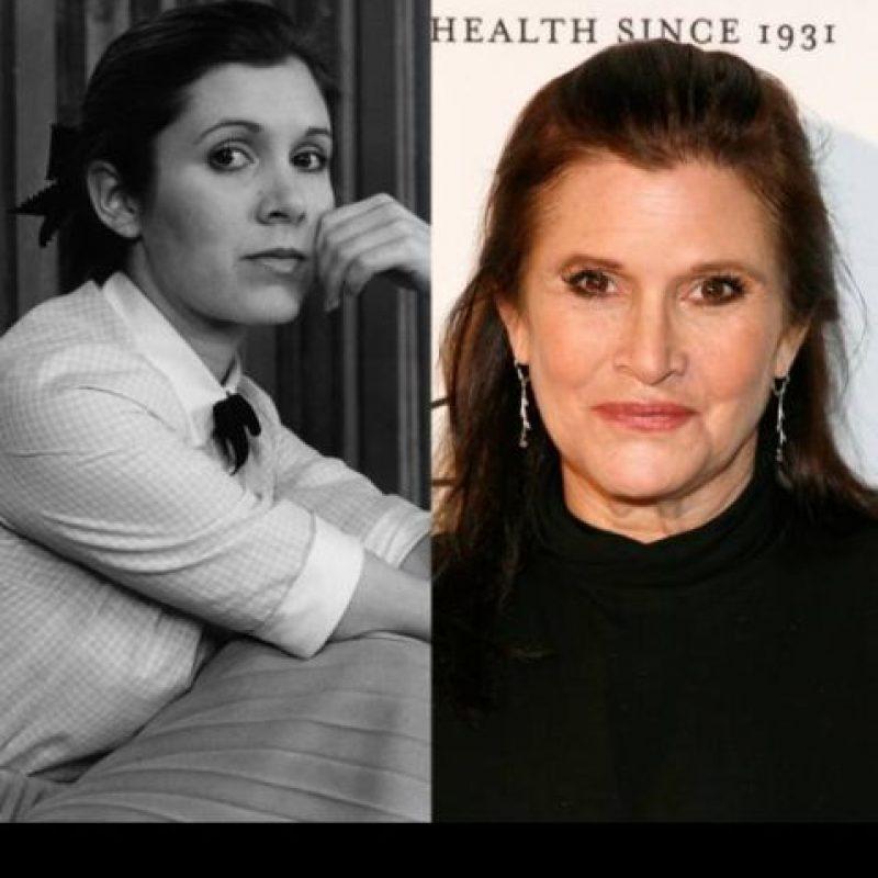 Carrie Fisher interpretó a la Princesa Leia. Sus dos otros grandes trabajos fueron en 'When Harry Met Sally', en 1987, y como ella misma en 'Sex and the City'. Hoy hace la voz de uno de los personajes de 'Padre de Familia'. Foto: TAccess Hollywood.