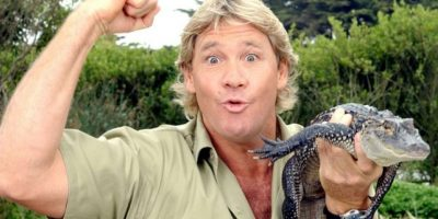 Steve Irwin en el documental Ocean's Deadliest. Foto: Agencias