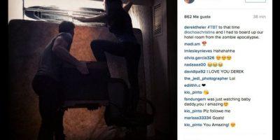 Derek Heler y Christina Ochoa Foto:Instagram/derekheler