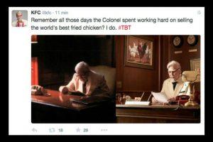 El Coronel Sanders Foto:Twitter/KFC