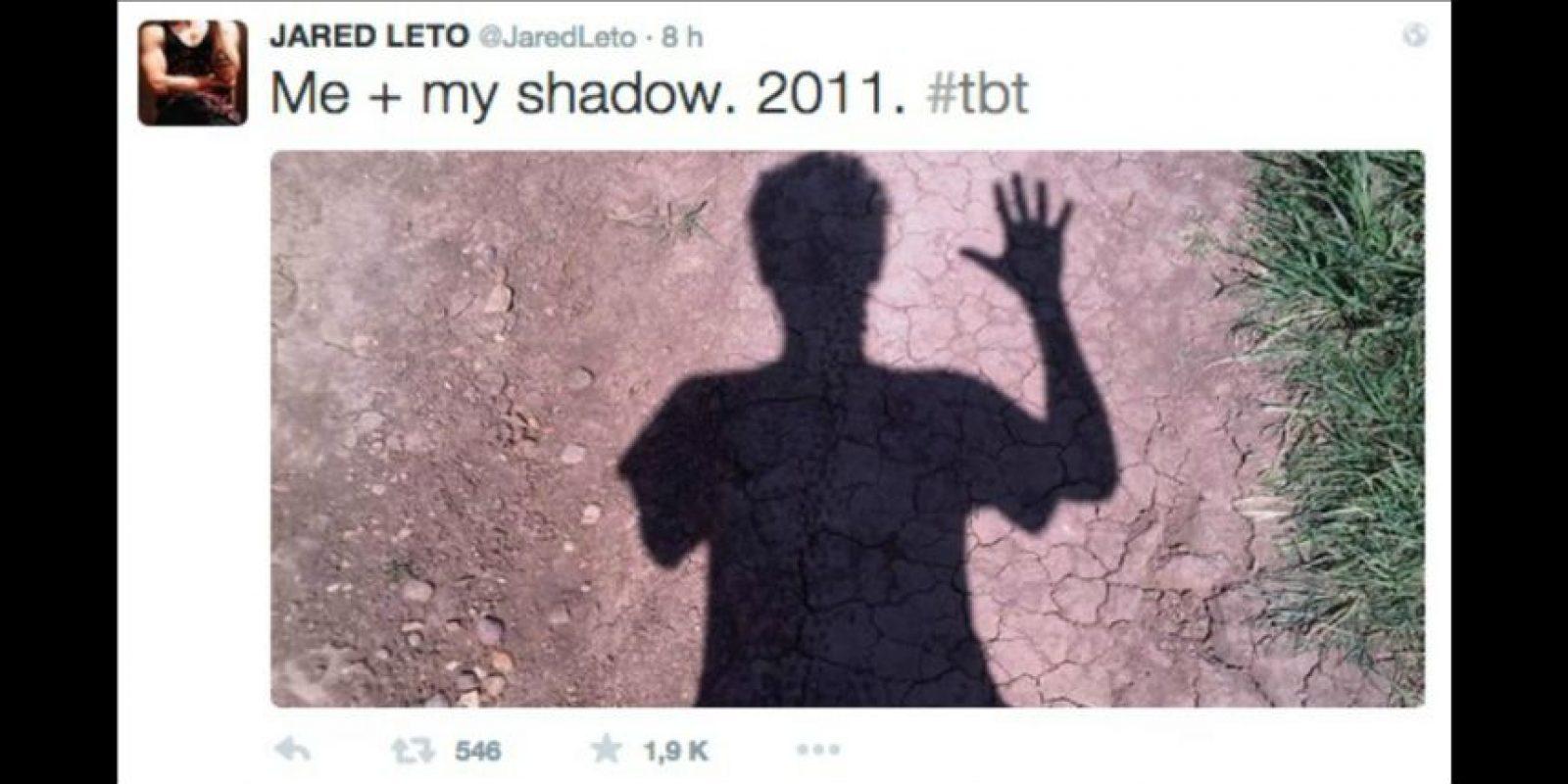 Jared Leto Foto:Twitter/JaredLeto