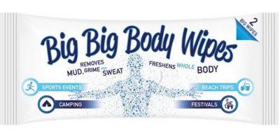 Big Big Body Wipes Foto:Big Big Body Wipes