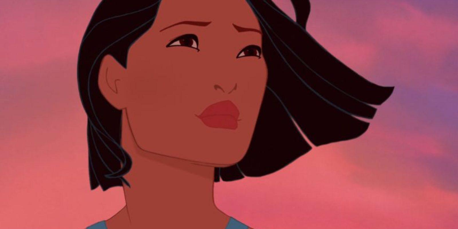 """Pocahontas de """"Pocahontas"""". Foto:thenamelessdoll.tumblr.com"""