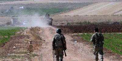 En el atentado estuvieron involucrados al menos seis misiles disparados por el ejército sirio. Foto:Getty Images