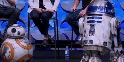 """También fue presentado en vivo durante el evento """"Star Wars Celebration"""" Foto:Star Wars Celebration"""
