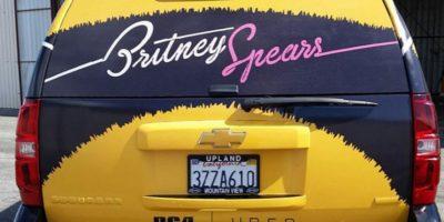 Miren cómo promocionó Britney Spears su nuevo sencillo con esta app para taxis