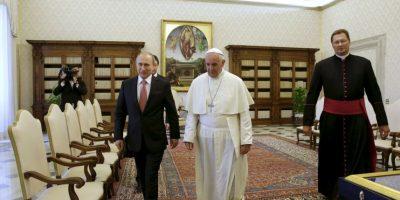 La convivencia se desarrollará en la Biblioteca del Palacio Pontificio de la Santa Sede. Foto:AP