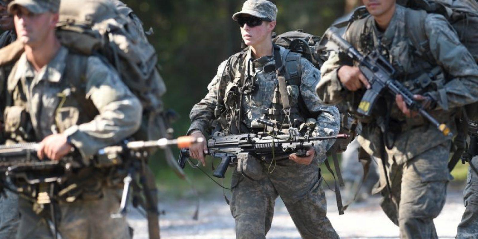 Griest es primera teniente y tiene 26 años. Foto:AP