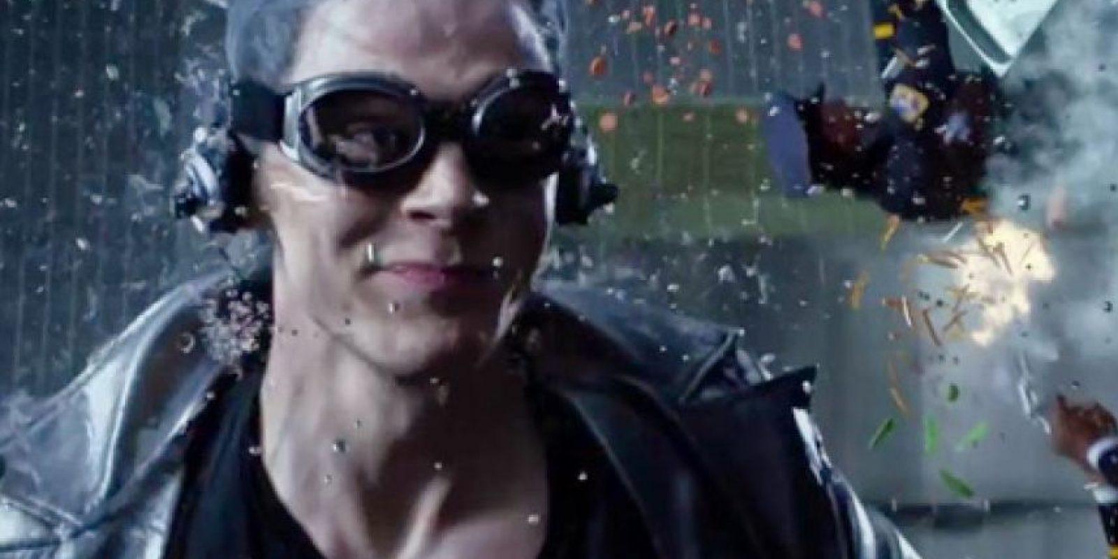 """El más veloz de los mutantes de """"Marvel"""", """"Quicksilver"""" recibió el nombre de """"El Velocista Azul"""" y """"Mercurio"""". Foto:IMDB"""