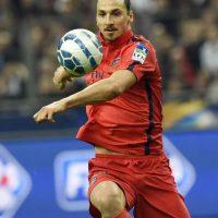 Zlatan Ibrahimovic será baja para el PSG ante el Barça. Foto:AFP