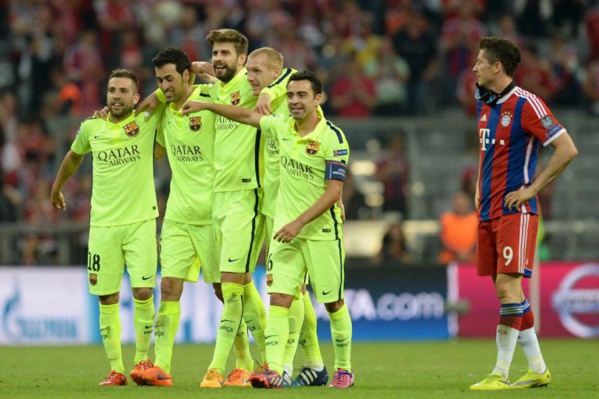 """Luis Enrique: """"Objetivo logrado. El nuevo objetivo es ser campeón de Europa"""". Foto:AFP"""
