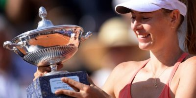 Maria Sharapova vence a Suárez y gana el torneo WTA de Roma