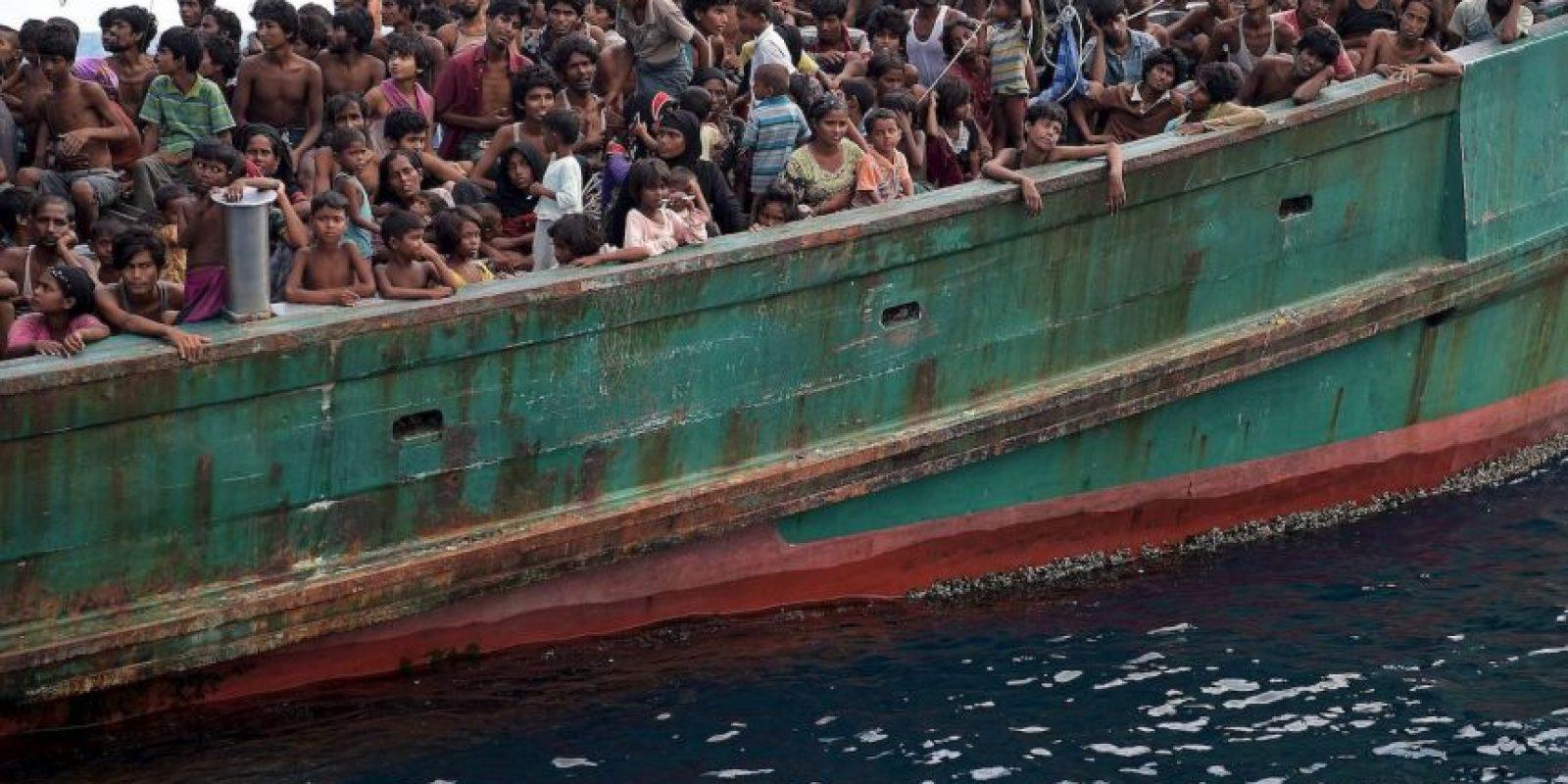 1. México a Estados Unidos Foto:AFP