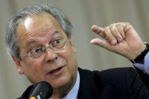 José Dirceu, exjefe de gabinete brasileño fue este lunes arrestado por la Policía Federal. Foto:AFP