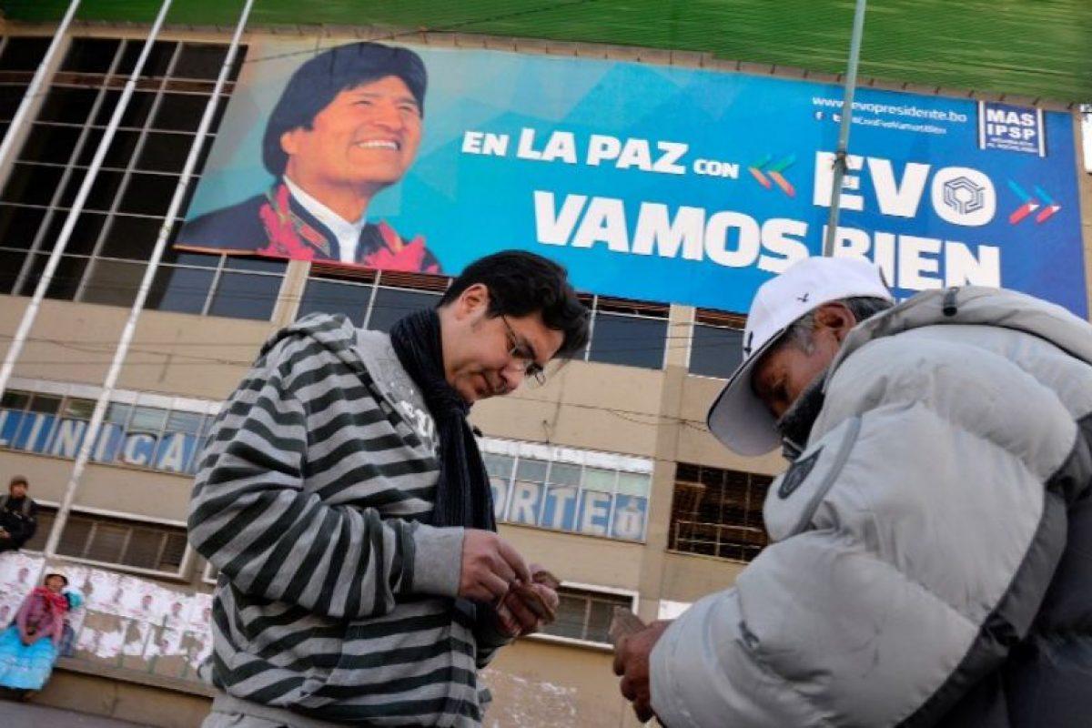 12. Una de sus principales luchas ha sido la despenalización de la hoja de coca Foto:AFP