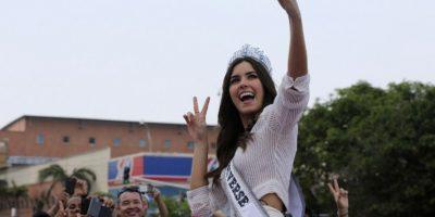 Paulina Vega, colombiana Miss Universo 2015 Foto:AFP