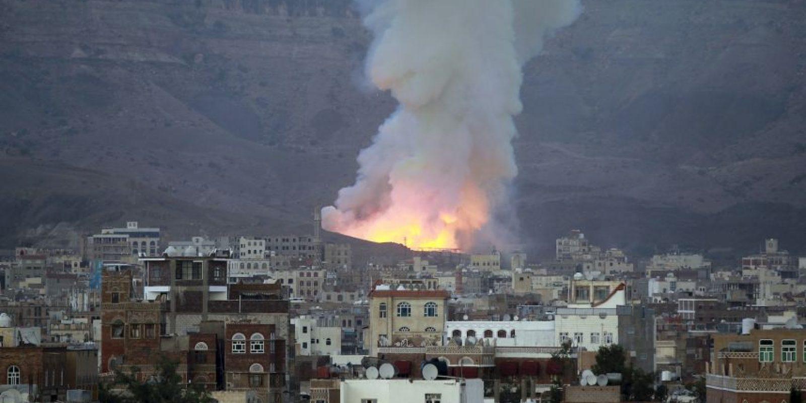 Conflicto en Yemen. Foto:AFP